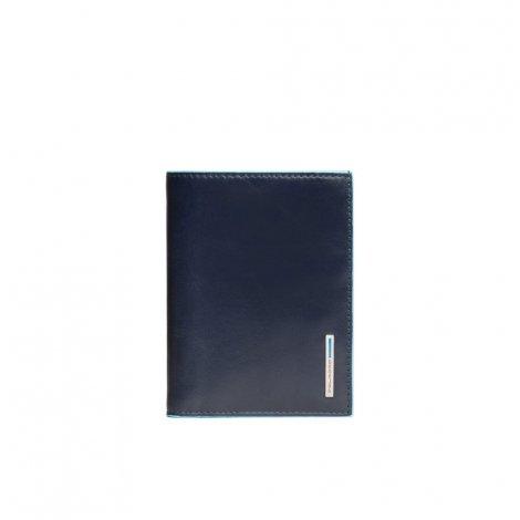 Portafoglio verticale Blue Square PIQUADRO