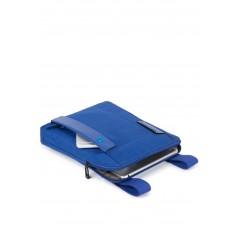 Borsello porta iPad Air in tessuto e pelle