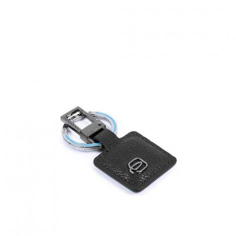 Black Square Keychain -...